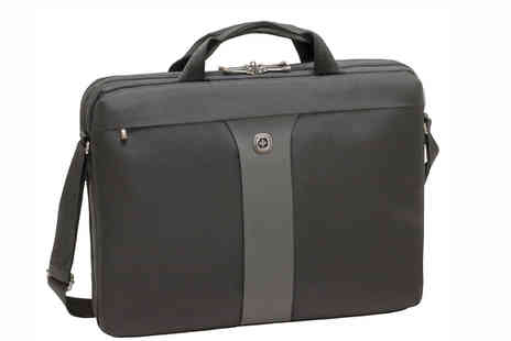 Moby Memory - Wenger Legacy 17 Inch Double Briefcase - Save 0%