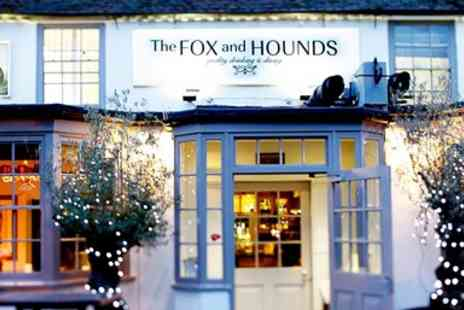 The Fox and Hounds - Chateaubriand & Bubbly for Two - Save 32%