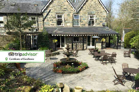 Bryn Artro Country House - Two or Three night stay for two including breakfast - Save 51%