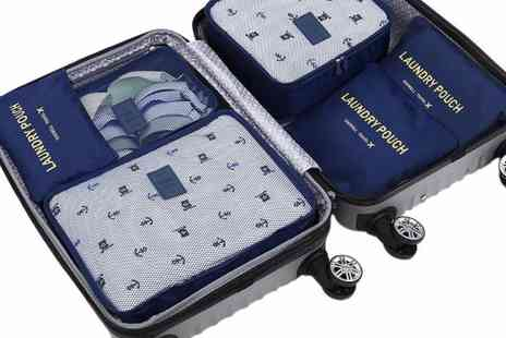 Heads Group - Six Piece Travel Organiser Set  - Save 67%