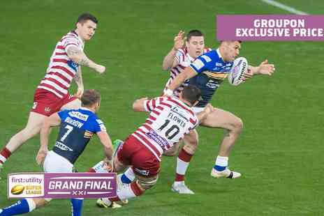 The Rugby Football League - Groupon Exclusive First Utility Super League Grand Final 2016, Old Trafford - Save 25%