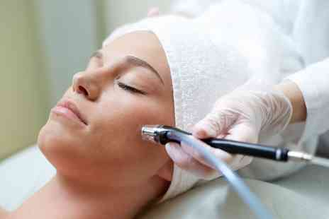 PureSun - Microdermabrasion with Organic Facial and Collagen Mask - Save 50%