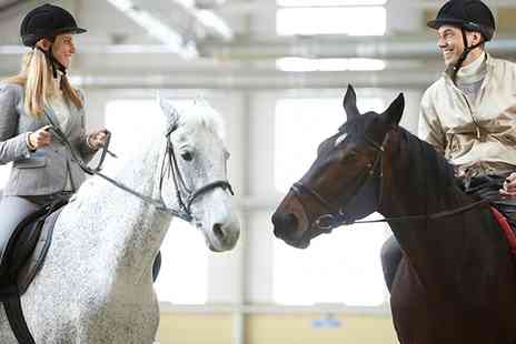 Middleton Riding Centre - One or Two Horse Riding Lessons - Save 55%