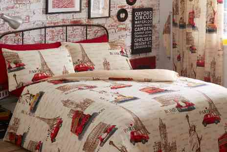 EDS textiles - Patterned Double Bed Set - Save 50%