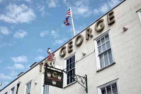 The George Hotel - One to Three Nights Stay For 2 With Breakfast, Dinner, Prosecco and Parking With Option for Zoo Tickets - Save 51%