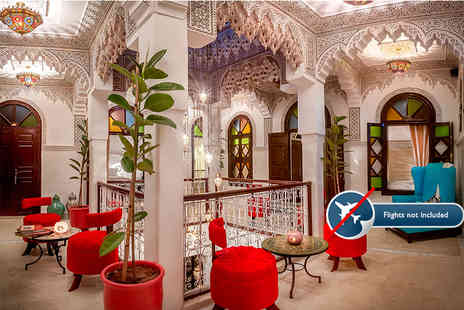 Morocco Plans - Two, Three or Five night Marrakech trip - Save 50%