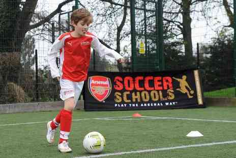 Arsenal Soccer School - Three day kids summer soccer school - Save 52%