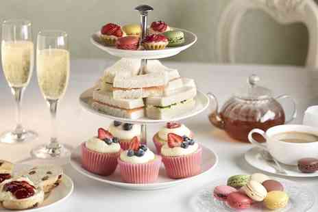 The Roman Way Hotel - Afternoon Tea with Optional Prosecco for Two or Four - Save 30%