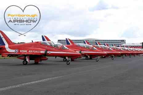 Farnborough International Airshow - Farnborough International Airshow One Day Ticket, 16 To 17 July - Save 21%