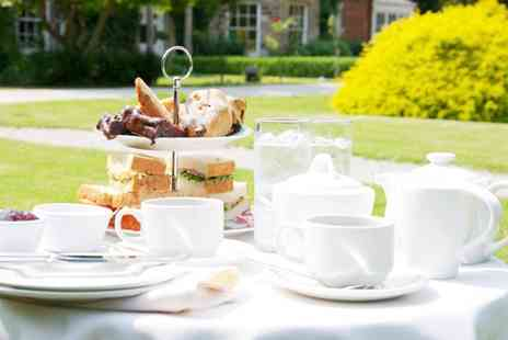 Risley Hall Hotel & Spa - Afternoon Tea for Two or Four - Save 47%