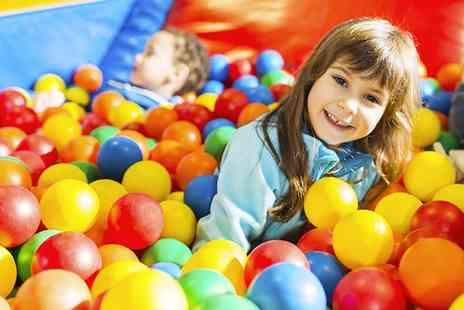 Sqoshis Play Centre - Two Hour Play Centre Entry for One, Two or Four - Save 0%
