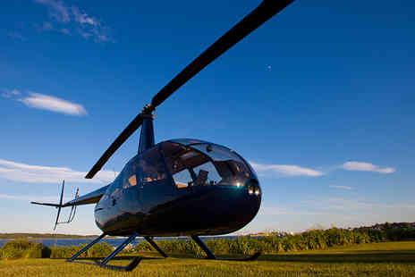 Northumbria Helicopters - Helicopter buzz flight for one - Save 0%