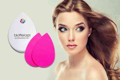 Glamour Shop UK - Beautyblender blotterazzi compact including two blotting sponges - Save 68%