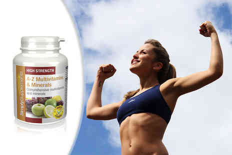 Simply Supplements - Three month supply of A to Z multivitamins and minerals - Save 53%