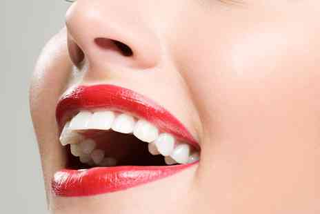 Smile Science Harley Street - LED Teeth Whitening with Consultation and Whitening Strips - Save 80%