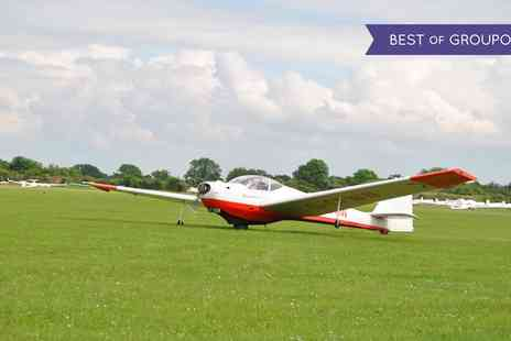 Bicester Gliding Centre - Motorglider Flight for Children Over 12 with Three Month Membership - Save 86%