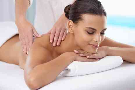 Healing Touch - Aromatherapy Back or Full Body Massage - Save 0%