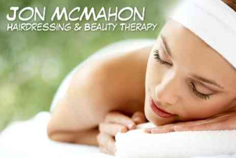 Jon McMahon - Skin Tailored Facial and Back, Neck and Shoulder Massage for £21 - Save 60%