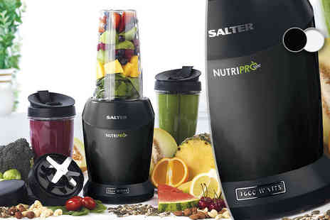 Internet Shop UK - Salter Nutri Pro extra deluxe electric blender with new accessory pack - Save 67%