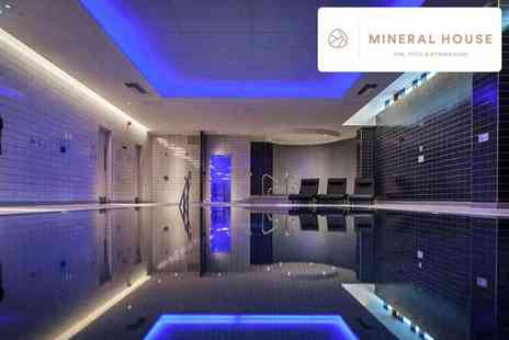 Mineral House Health Club & Spa - Spa experience, afternoon tea and prosecco for one or two - Save 39%