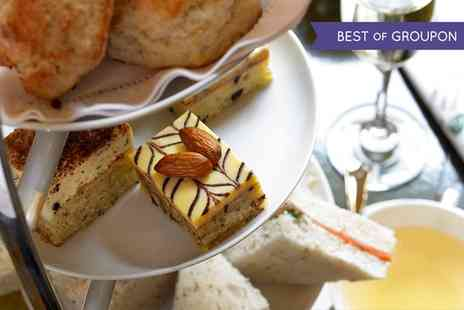 The Larder Restaurant - Afternoon Tea with an Optional Glass of Prosecco for Two - Save 0%