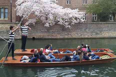 The Cambridge Punting Company - 45 Minute Cambridge Punting Tour for One or Two - Save 0%