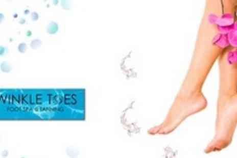 Twinkle Toes Foot Spa & Tanning - Choice of Pedicure Plus Manicure and Foot Massage - Save 60%