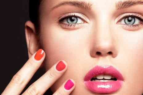 Nail Candy - Shellac Manicure or Pedicure or Both - Save 54%