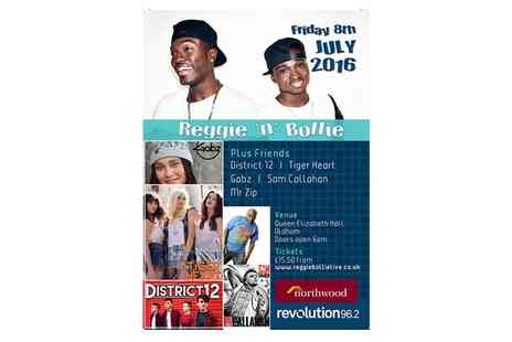 Shout Media & Events - Ticket to Reggie n Bollie on 8 July - Save 43%