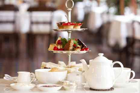 Britannia North Stafford Hotel - Traditional or Sparkling Afternoon Tea for Two with Option to Add a Bottle of Prosecco - Save 0%