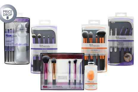 Crazy Kangaroo - Real Techniques Brush Sets With Free Delivery - Save 37%