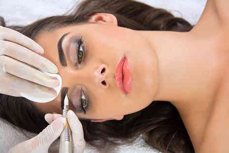 Sparkles Salon - Semi permanent eyebrow extensions or eyebrow extensions and a tint - Save 47%