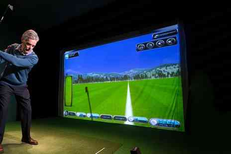 Epsom Golf Club - Up to Three Hours of Golf Simulator for Up to Eight - Save 37%