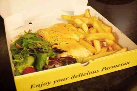 Wonkas - Parmo with Chips and Salad for One or Two - Save 0%