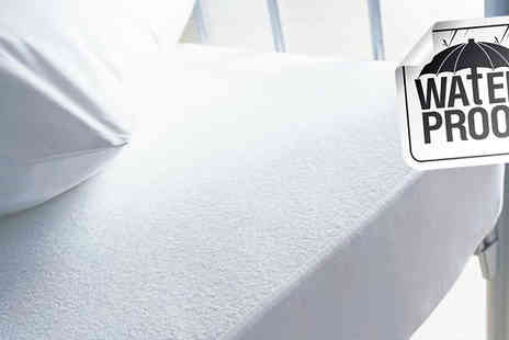High Living - Pair of Waterproof Pillow Protectors - Save 0%