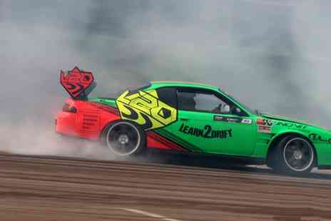 Learn 2 Drift - Half Day Drifting Session with Three Passenger Rides - Save 65%