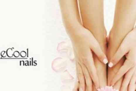CutieCool Nails - Choice of Nail Treatment Such as Shellac Manicure or Acrylic Nails Plus Shellac Pedicure - Save 70%