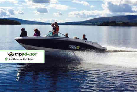 Loch Lomond Leisure - 30 minute private luxury speedboat tour for up to seven  - Save 52%