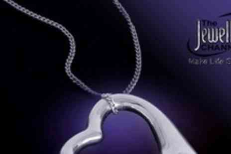 The Jewellery Channel - Three Sterling Silver Heart Shaped Pendant - Save 63%