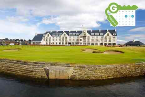 Carnoustie Golf Hotel - Stay For Two With Breakfast - Save 10%