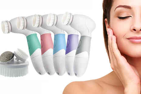 Cappie International - Face and Body Brush Set Available In Five Colours - Save 0%