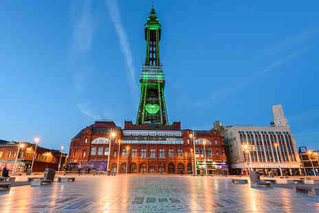 The Cavendish Hotel - Blackpool stay for two including breakfast and a bottle of wine - Save 53%
