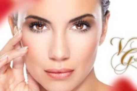 Vagheggi - Face and Neck Lifting Treatment with Titan Technology - Save 80%