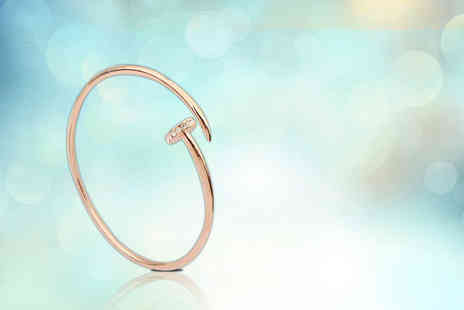 Diamond Republic Jewellery - Circle of love bangle - Save 87%