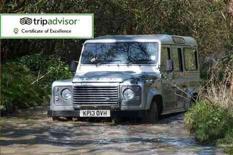 Experience The Country - Off road 4x4 driving experience for two - Save 54%