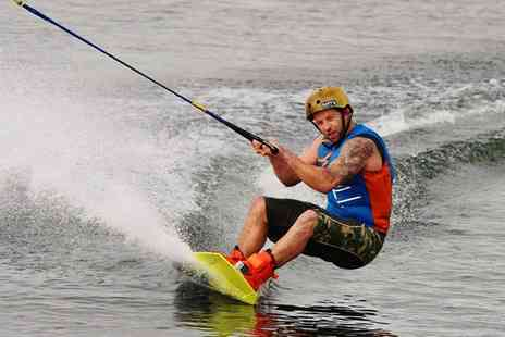 Wakelake - One Hour Wakeboarding Session for One - Save 50%