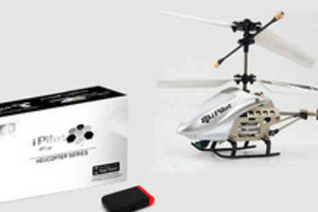 Bluebud - Mini indoor Gyro Helicopter controlled by the iPhone, Ipad or iPod touch - Save 69%