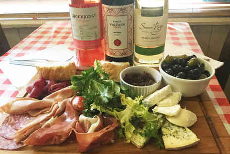Mamma Mias - Italian sharing board with a bottle of house wine for two - Save 46%