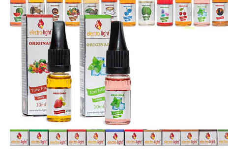 Electro Light Enterprise - 10 E Cigarette Liquids - Save 57%
