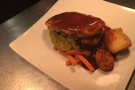 The Hotplate Noshery - Sunday Roast with All the Trimmings and Soup of the Day for Two or Four - Save 0%